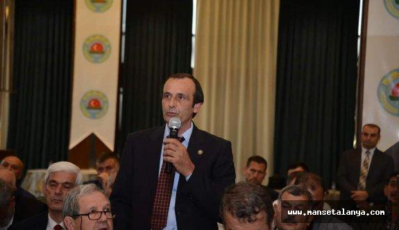 Alanya Ziraat Odası'nda delegeler seçildi