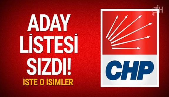 CHP İstanbul, Ankara, Adana, Antalya adayları sızdı
