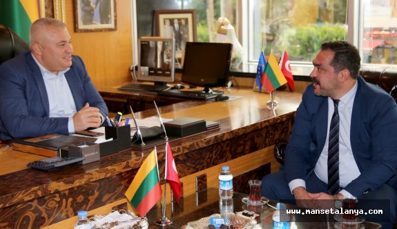 CHP'li Çorbacı: Mehmet Şahin başkanım Alanya'nın bir markasıdır