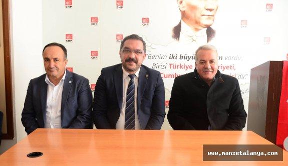 Abdullah Sönmez CHP'de!