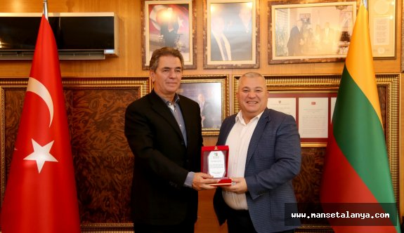 AHEP Başkanı Tokuş'tan, Şahin'e teşekkür