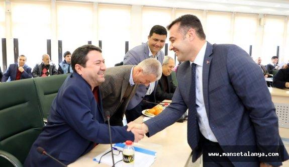 Alanya belediyesinde Cumhur ve Millet ittifakı el ele!