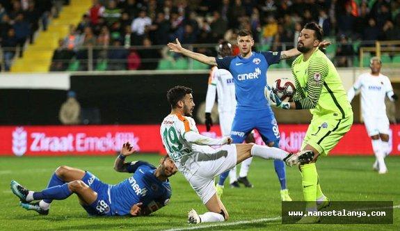 Alanyaspor - Kasımpaşa maç sonucu: 0-0