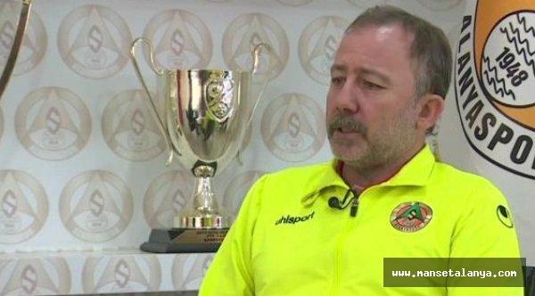 Alanyaspor'un teknik patronu konuştu...!