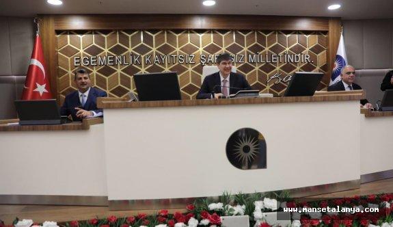 Antalya'da yılın ilk meclisinde ittifak rüzgarı esti