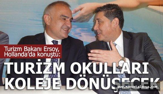 Bakan Ersoy: Yeni hedef 70 milyon turist, 70 milyar dolar gelir