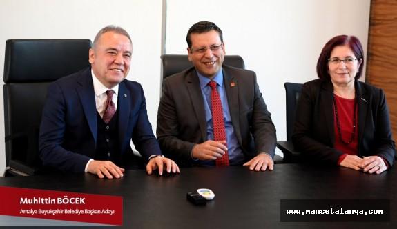 Muhittin Böcek ve Ahmet Kumbul'dan birlik mesajı…