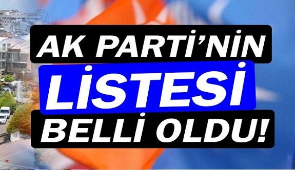 AK Parti'nin Muratpaşa Meclis Üyesi Adayları belli oldu!