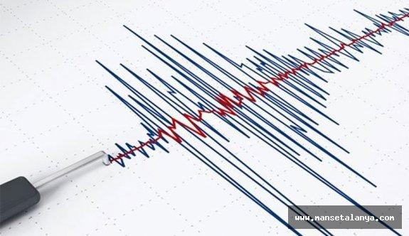 Akdeniz'de 3 büyüklüğünde deprem meydana geldi