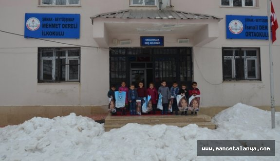 Antalya'dan Şırnak'a yardım eli!
