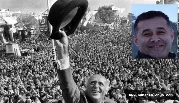 Başkan Yücel'den mesaj var: Şapkamı da koltuğu da kaptırmam mesajı!