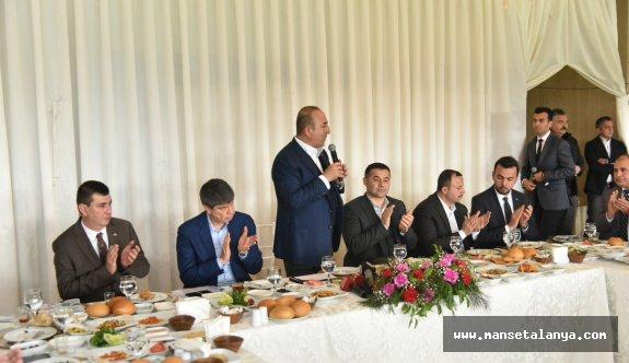 Cumhur ittifakı Alanya'da hemşeri dernekleriyle buluştu