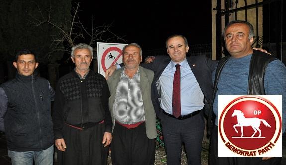 DP adayı Çakır'a büyük ilgi!