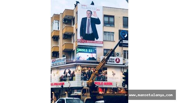 DP li Çakır dan dev poster...