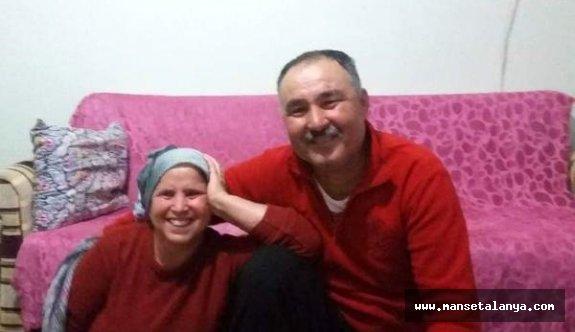 Kendisi yaralı eşi ise hayatını kaybetti