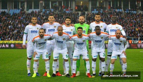 Maç sonucu: Trabzonspor 0- Alanyaspor 2