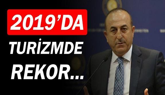 Mevlüt Çavuşoğlu: Turizmde rekor kıracağız