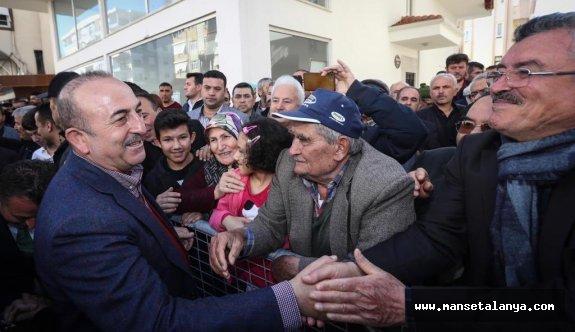 Mevlüt Çavuşoğlu: Ülkenin parçalanmasını isteyenler kirli ittifakın içinde