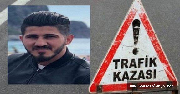 Alanya'da trafik kazası: 1 ölü