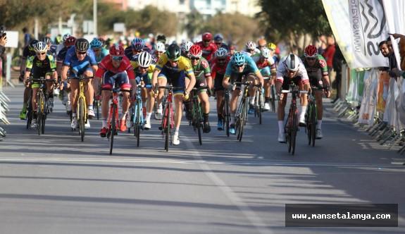 Alanya Uluslararası bisiklet yarışına ev sahipliği yaptı