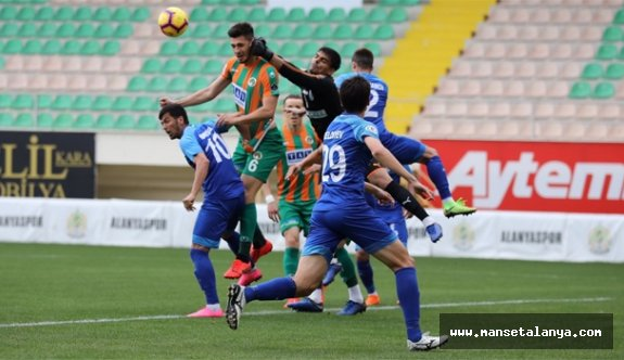Alanyaspor'da Bursaspor provası