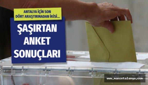 Antalya anket sonuçları geldi son 4 anket çok şaşırttı
