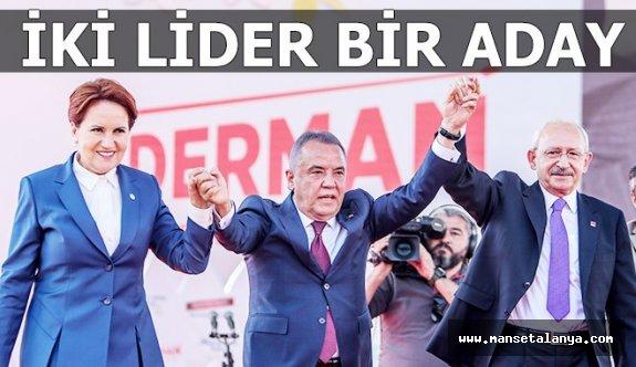 Antalya Büyükşehir belediye başkan adayı Muhittin Böcek için geldiler!