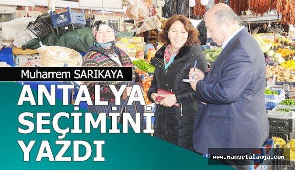 Antalya'da seçim yine iki kutuplu
