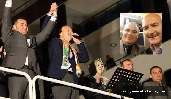 Bakan Soylu, Yaşar Uysal'ı yanından ayırmadı