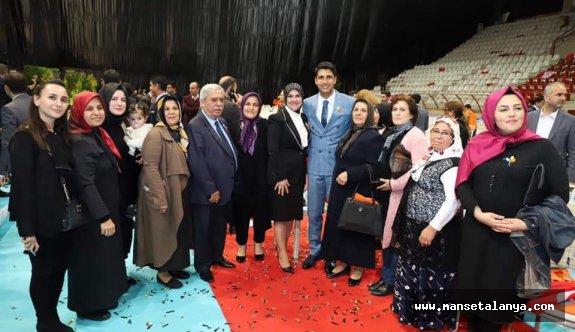Başkan Yücel 'in dünki proje tanıtımından kareler