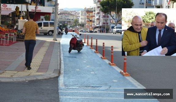 Çakır: Alanya'yı bisiklet yolu işkencesinden kurtaracağız!