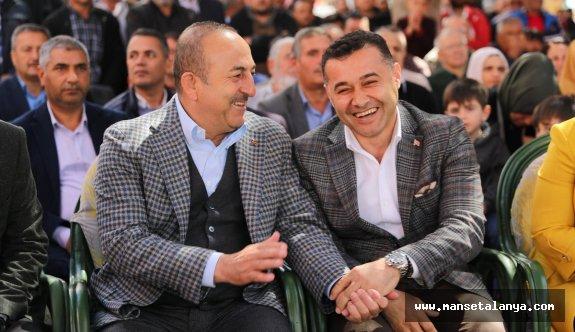 """Çavuşoğlu """"Benim sizlerden ricam, Adem Murat Yücel'i güçlendirelim"""""""