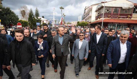 Çavuşoğlu: Gazipaşa'da ilk 5 yıldızlı otelin temeli atılacak