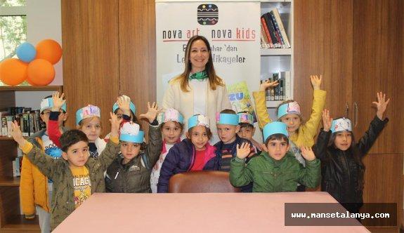 Çocuk kitapları yazarı, öğrencilerle buluştu