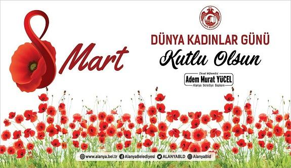 Cumhur ittifakı adayı Adem Murat Yücel, kadınlar günü kutlaması