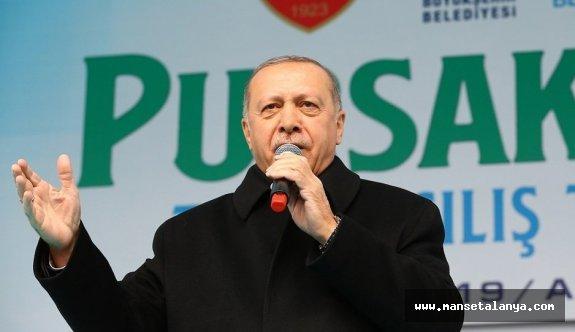 Erdoğan: CHP'den FETÖ'cü belediye başkan adayları var