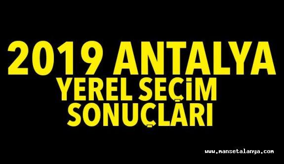 İşte Antalya ilk seçim sonuçları. Böcek önde gidiyor...