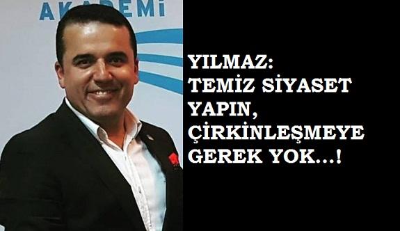 Kasımoğlu'ndan Sönmez'e eleştiri yağmuru...! Temiz siyaset yapın!
