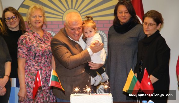 Litvanya'nın bağımsızlığını kutladılar!
