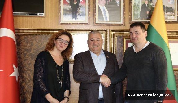 Litvanyalılar Alanya'da film çekecekler...