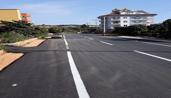 Mahmutların yeni sanayisinde asfalt öncesi hazırlık devam ediyor