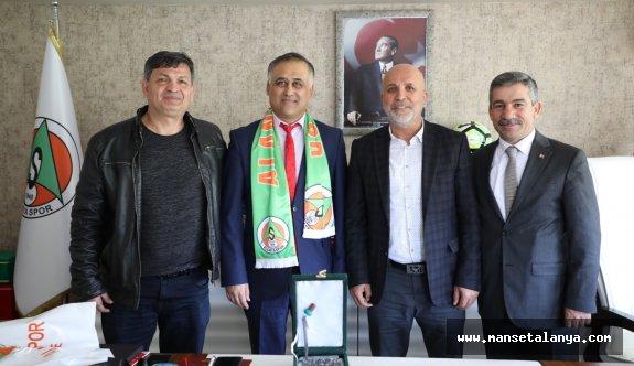Selçuk Üniversitesi'nden Alanyaspor'a proje ziyareti