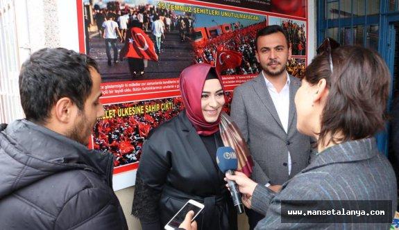 Sena Nur Çelik, Alanya basınının karşısına çıktı ve dedi ki!
