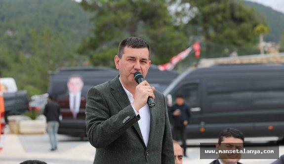Türkdoğan: Yücel Alanya'yı 5 yılda ihya etti!