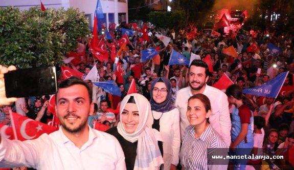 Ak Parti Alanya teşkilatında şok istifa...!