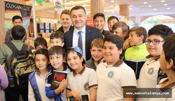 Alanya başkanı çocuklarla buluştu...