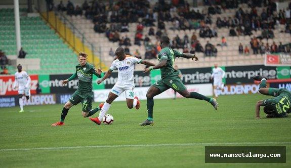 Alanyaspor - Bursaspor maç sonucu: 1-0