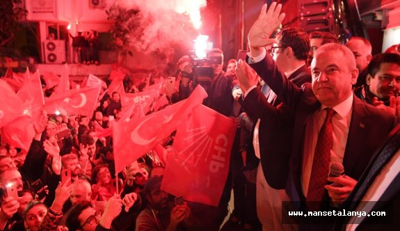 Antalya büşükşehir belediye başkanı Böcek: 19 ilçe belediye başkanı ile omuz omuza çalışacağız!