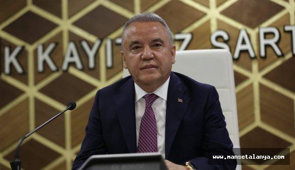 Antalya Büyükşehir Belediye Başkanı Muhittin Böcek'ten kamuoyuna önemli açıklama!