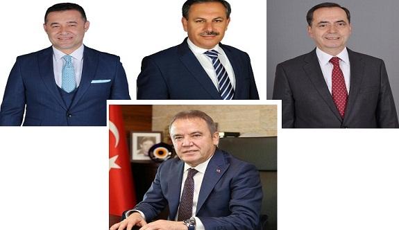 Antalya'da CHP 9, AK Parti 6 başkanlık kazandı